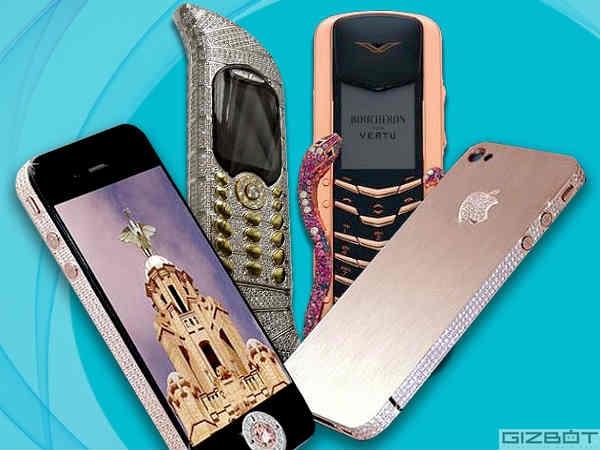 ગોલ્ડ અને ડાયમંડ ધરાવતા સ્માર્ટફોન, જે તમને આકર્ષિત કરી શકે છે