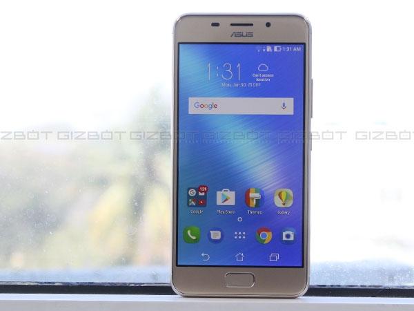 આસુસ ઝેનફોન 3એસ મેક્સ, 5000mAh બેટરી, કિંમત 14,999 રૂપિયા