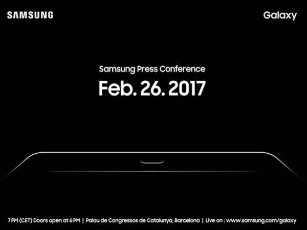 સેમસંગ એમડબ્લ્યુસી 2017 ઇવેન્ટમાં નવું ટેબ્લેટ લોન્ચ કરશે
