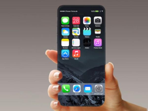 એપલ આઈફોન 8 સ્માર્ટફોનમાં 5.8 ઇંચ OLED સ્ક્રીન: રિપોર્ટ