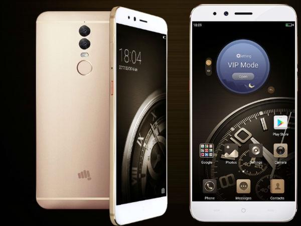 માઇક્રોમેક્સ ડ્યુઅલ 5 લોન્ચ, જાણો કયા સ્માર્ટફોન સાથે ટક્કર લઇ શકે છે.