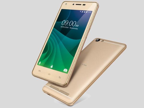 લાવા A77 4જી સ્માર્ટફોન 6099 રૂપિયામાં લોન્ચ