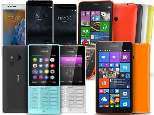ભારતમાં ખરીદી શકાય તેવા નોકિયા ફોન