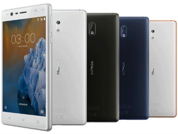 નોકિયા 3 હવે 9499 રૂપિયામાં ઉપલબ્ધ, જાણો બીજા બજેટ સ્માર્ટફોન