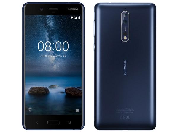 નોકિયા 8 સ્માર્ટફોન, 13 મેગાપિક્સલ સેલ્ફી કેમેરા સાથે આવી શકે છે