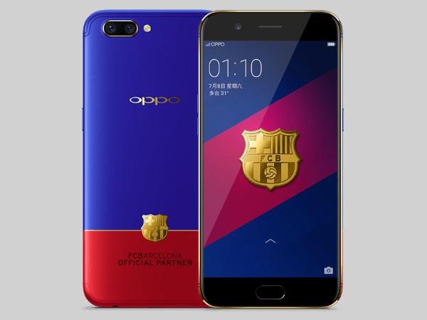 Oppo R11 એફસી બાર્સેલોના આવૃત્તિ હવે ખરીદી માટે ઉપલબ્ધ છે