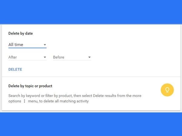 Google પર માય એક્ટિવિટી સેટિંગ્સ સાથે તમે શું કરી શકો?