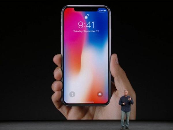 એપલ આઈફોન એક્સની જાહેરાત કરી