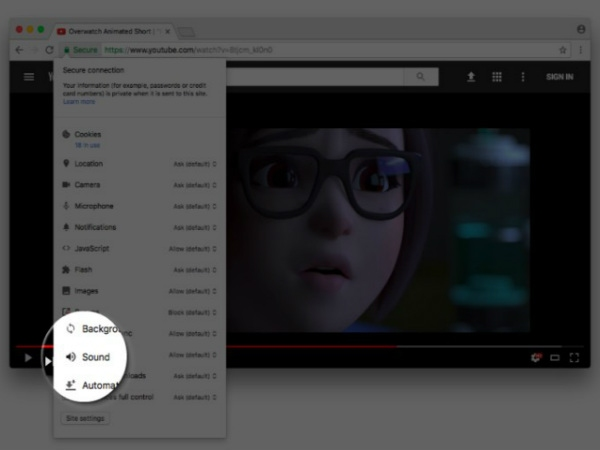 Google Chrome સંભવિત વેબસાઇટ્સની સ્થાયી મ્યૂટિંગની તપાસ કરી રહ્યું છે