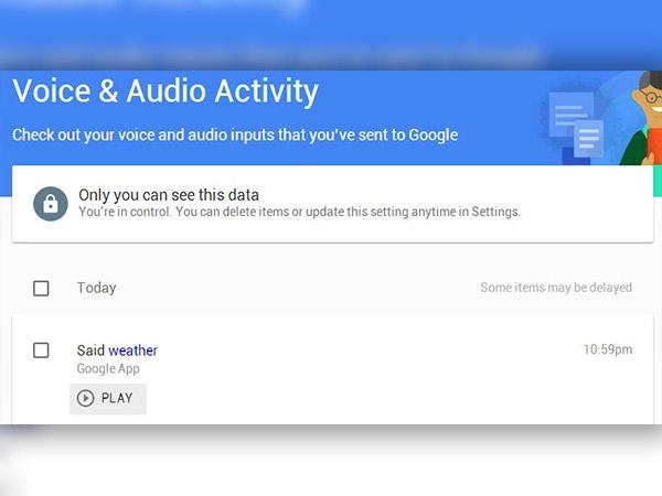 Google વૉઇસ અને ઑડિઓ પ્રવૃત્તિ કેવી રીતે સંચાલિત કરવી
