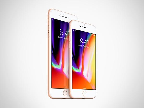 આઇફોન 8 અને 8 પ્લસ દ્વારા પોતાની સ્માર્ટફોન ગેમ ને આગળ વધારી