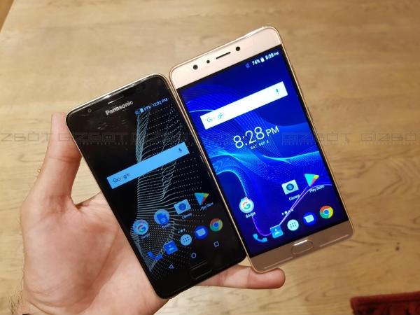 પેનાસોનિક એલુગા રે 500 અને 700 બંને બજેટ સ્માર્ટફોન