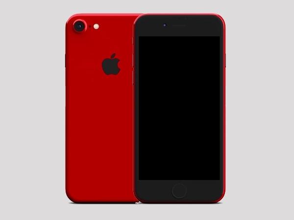 રેડ એપલ આઈફોન 7 અને 7 પ્લસ ડિસકન્ટિન્યુ કરાયા