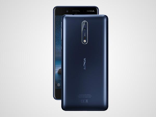 નોકિયા 8 સ્માર્ટફોન 6 જીબી રેમ અને 128 જીબી સ્ટોરેજ આખરે લોન્ચ