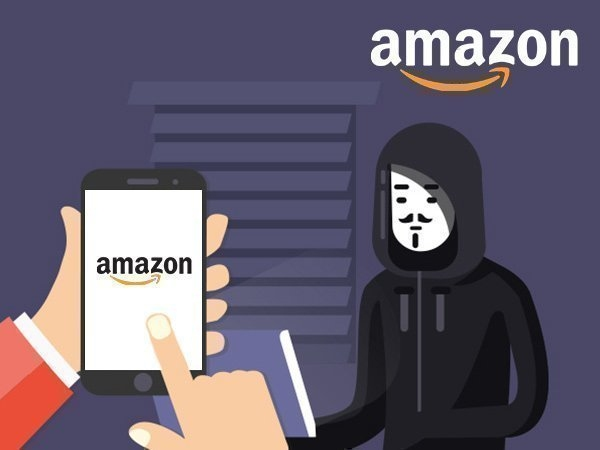 ગ્રાહકોને છેતરવા માટે હેકર નકલી એમેઝોન વેબસાઈટ લિંકનો ઉપયોગ કરે છે