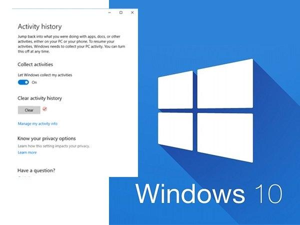 Windows 10 માં પીસીની પ્રવૃત્તિને કેવી રીતે ટ્રેક કરવી