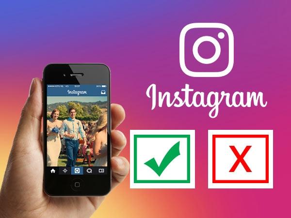 Instagram ટેવો: Do's અને Don'ts