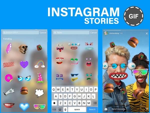 Instagram વાર્તાઓ પર GIF સ્ટીકરોનો ઉપયોગ કેવી રીતે કરવો