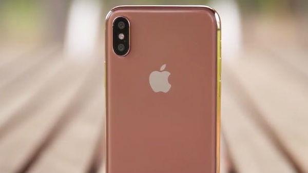 એપલ આઈફોન X ની બ્લશ ગોલ્ડ કલર વેરિઅન્ટ લોન્ચ કરી શકે છે