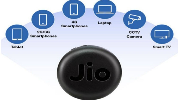 જિયોફાઈ 4G LTE હોટસ્પોટ 999 રૂપિયામાં 150 Mbps ડાઉનલોડ સ્પીડ