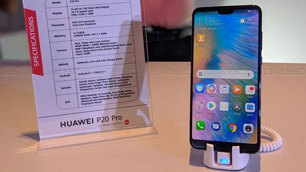હ્યુવેઇ પી20 પ્રો અને પી20 લાઇટ સ્માર્ટફોન ભારતમાં ઉપલબ્ધ