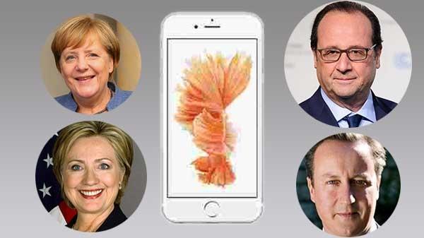 વર્લ્ડ લીડર્સ ક્યાં ફોન નો ઉપીયોગ કરે છે?