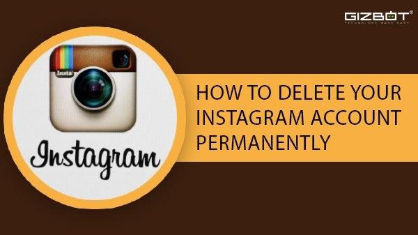 તમારા Instagram એકાઉન્ટને કાયમી ધોરણે કેવી રીતે કાઢી નાખવું