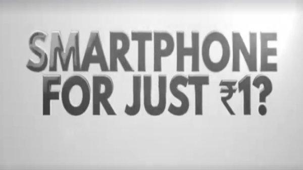 માઇક્રોમેક્સ ઇન્ડિયા માટે માત્ર રૂ.1 માં સ્માર્ટફોન લોન્ચ કરશે