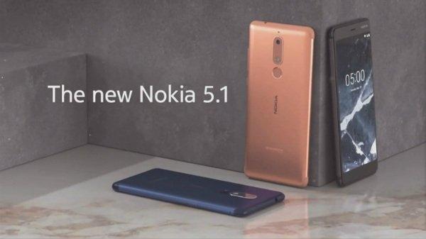 નોકિયા 5.1, નોકિયા 3.1 અને નોકિયા 2.1 ભારતમાં જલ્દી આવશે