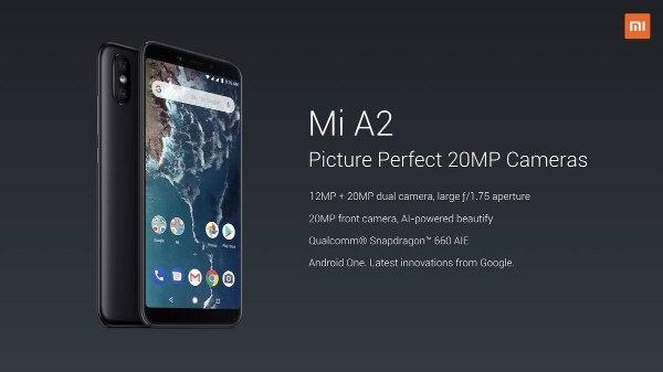 ઓગસ્ટ 8 ના રોજ ભારતમાં લોન્ચ કરવા માં આવશે Xiaomi Mi A2