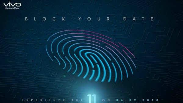 6 સપ્ટેમ્બરના રોજ ભારતમાં લોન્ચ કરવા માટે Vivo V11, V11 પ્રો