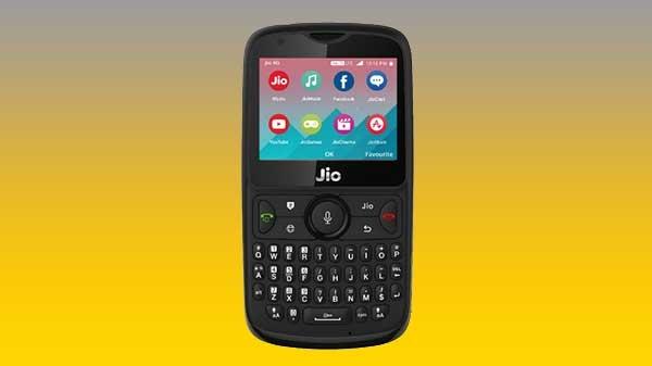 જીયો ફોન 2 આગામી ફ્લેશ વેચાણ 6 સપ્ટેમ્બરના રોજ થશે