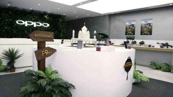 ઓપ્પોએ બેંગ્લોરમાં તેનો પહેલો PUBG થીમ સ્ટોર શરુ કર્યો