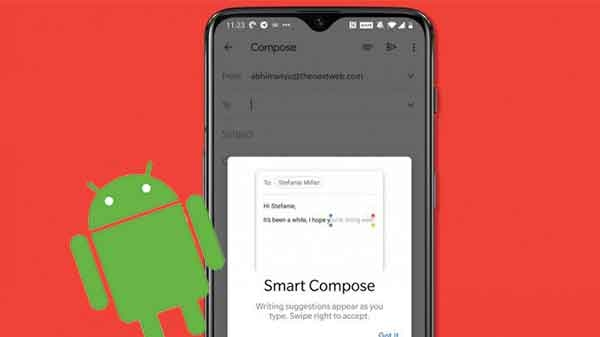 એન્ડ્રોઇડ સ્માર્ટફોન પર સ્માર્ટ કમ્પોઝ ફીચર ને કઈ રીતે ચાલુ કરવું