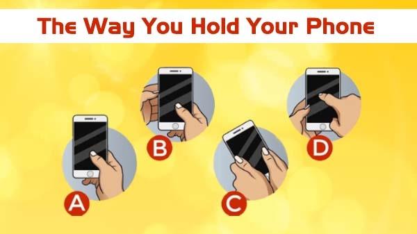તમે તમારો ફોન કઈ રીતે પકડો છો તેના પર થી પણ તમારી ઓળખ ખબર પડી શકે છે.
