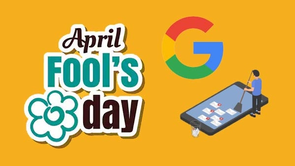This April's fools' day Google offered to clean your Smartphone
