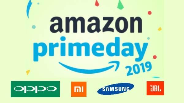 Amazon prime day sale 2019 ની અંદર ઝીયામી, oppo, samsung, જેબીએલ, દ્વારા ચાર નવી પ્રોડક્ટ લોન્ચ કરવામાં આવી.