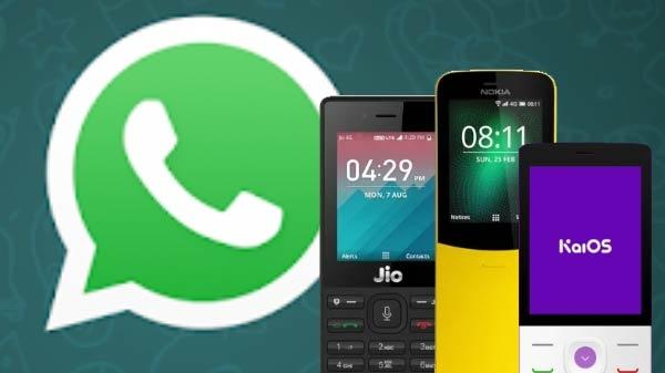 હવે whatsapp ઓફિશિયલી jio ફોન અને nokia 8110 માટે કાઇ આઇઓએસ સ્ટોર પર