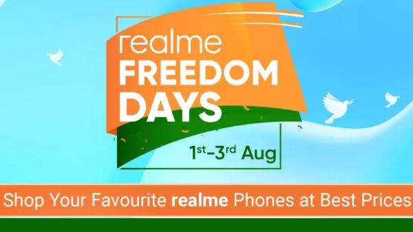 Flipkart પર realme freedom day sale realme 3 pro અને બીજા ફોન પર ડિસ્ક