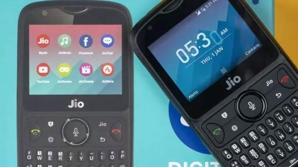 રિલાયન્સ જીઓ ફોન 3 ફોરજી ફીચર ફોન ને મીડિયાટેક એસ ઓસ સાથે આ મહિનામાં