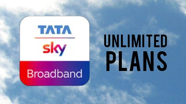 Tata sky broadband ની અંદર હવે બંને ફિક્સ અને અનલિમિટેડ પ્લાન ઉપલબ્ધ