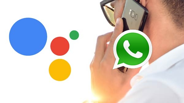 Google assistant ની મદદથી whatsapp calls