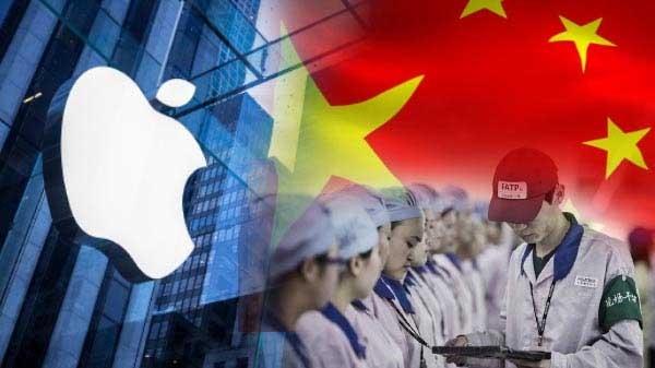 એપલ દ્વારા ચાઈના ની અંદર કર્મચારીઓને કેર પેકેજીસ મોકલવામાં આવ્યા