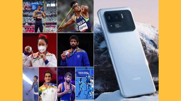 શાઓમી દ્વારા ભારત ના દરેક ટોક્યો ઓલિમ્પિક ના મેડાલીસ્ટ ને મી 11 અલ્ટ્ર