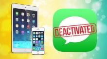 આઈફોન અને આઇપેડ પર એપલ મેસાજીસ ને કઈ રીતે ડિએક્ટિવેટ કરવા