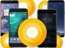બેસ્ટ સ્માર્ટફોન જેમાં ખુબ જ જલ્દી એન્ડ્રોઇડ ઓ અપડેટ આવી શકે છે