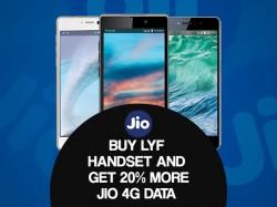 JIO LYF સ્માર્ટફોન પર 20% વધુ ઓફર અને ડિસ્કાઉન્ટ