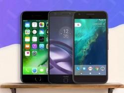 ટોચ ના ફ્લેગશિપ સ્માર્ટફોન્સ પર ખુબ જ મોટું ડિસ્કાઉન્ટ ચાલી રહ્યું છે: આઇફોન 7 પ્લસ, ગૂગલ પિક્સેલ, મોટો ઝેડ પ્લે અને વધુ