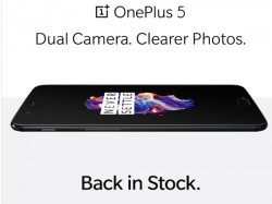 વન-પ્લસ 5 મિડનાઇટ બ્લેક 8GB + 128GB વેરિઅન્ટ પાછો સ્ટોકમાં છે: ખરીદી માટે ઉપલબ્ધ