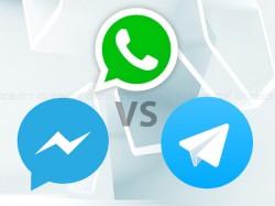 વોટ્સએપ vs ફેસબુક મેસેન્જર vs ટેલિગ્રામ: શું તેમને અલગ બનાવે છે